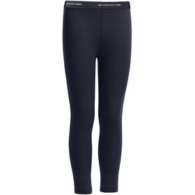 """Icebreaker Kids Compass Leggings Midnight Navy"""